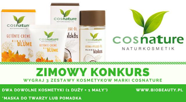 Wygraj kosmetyki COSNATURE ufundowane przez firmę Biobeauty