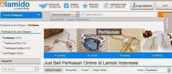 Kategori Perhiasan di Lamido