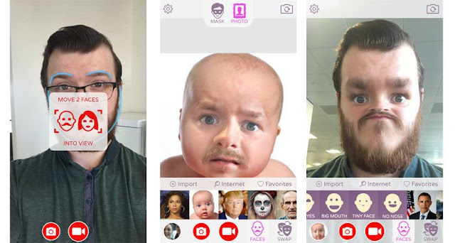 Now Snapchats Can Swap Faces With Pictures On iOS