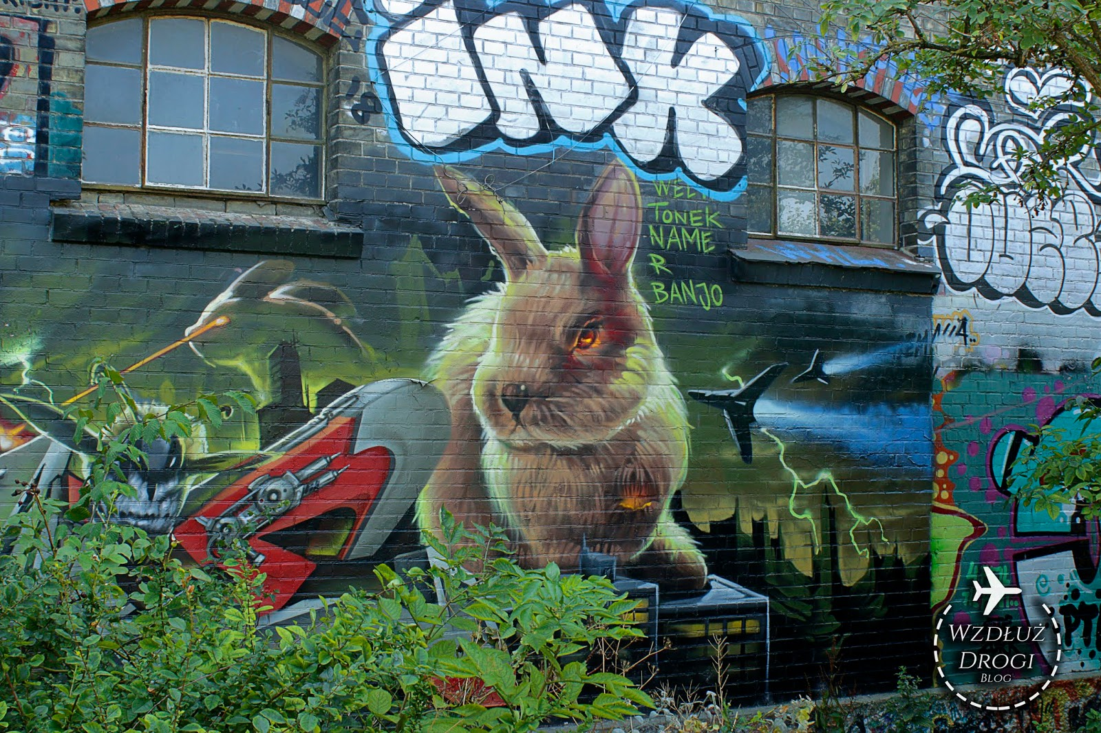 christiania, mural, street art