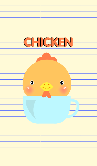 Simple Cute Chicken Theme Vr.2(jp)