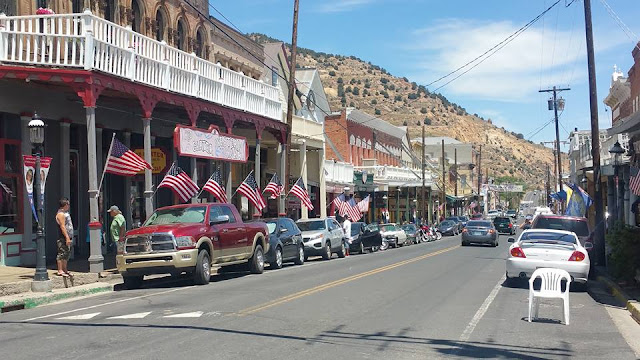 Getaway to Virginia City