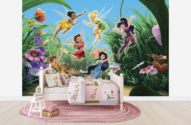 Lastenhuoneen Tapetti Lasten Tapetti Disney Helinä-keiju