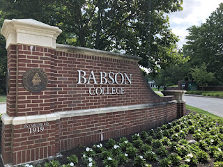 バブソン大学に行ってきました