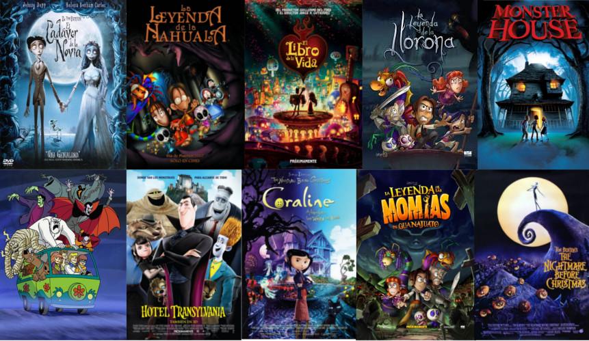10 Películas Animadas Para Ver En Halloween