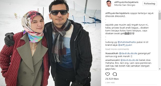Muat Naik Status Terlajak Lucah, Netizen Hilang Respect Pada Aliff Syukri