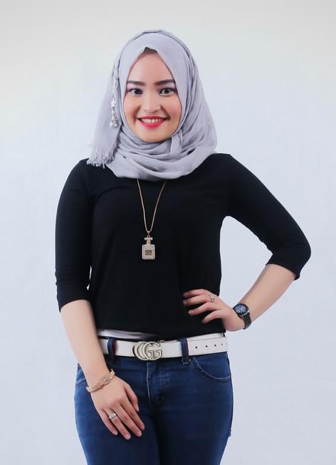 Simple hijab dan keren