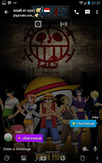 BBM Mod One Piece V3.0.1.25 Apk3
