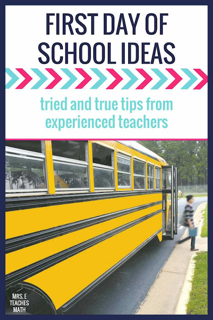 Need some tips for the first day of school?  These back to school tips from experienced teachers will help you get your middle and high school classroom of to a good start!