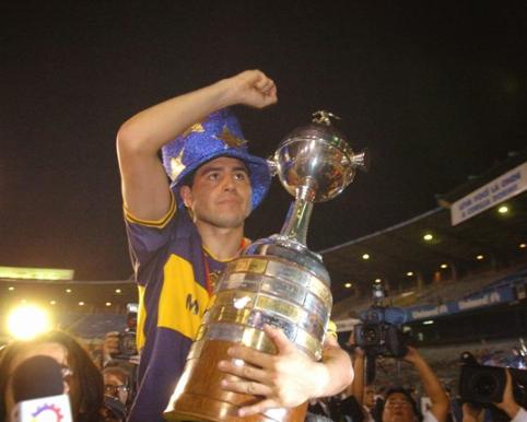 Riquelme luôn là người hùng ở Boca Juniors