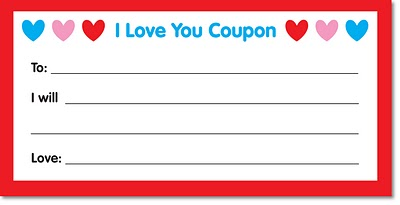 Early play templates free gift coupon templates to print out for Love coupons for him template