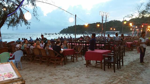Atardecer en Sihanoukville