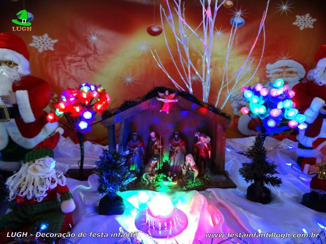 Decoração Natalina para festa de aniversário