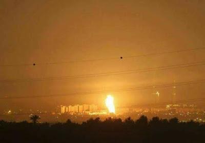 عاجل قصف عنيف آلان من طائرات الاحتلال الاسرائيلي على قطاع غزه