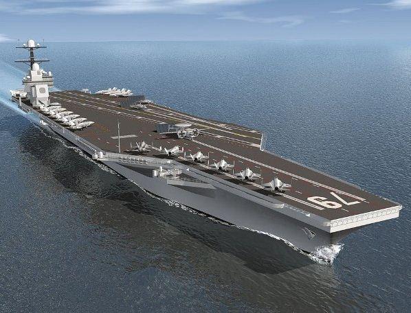UAV China mampu lunpuhkan kapal induk AS
