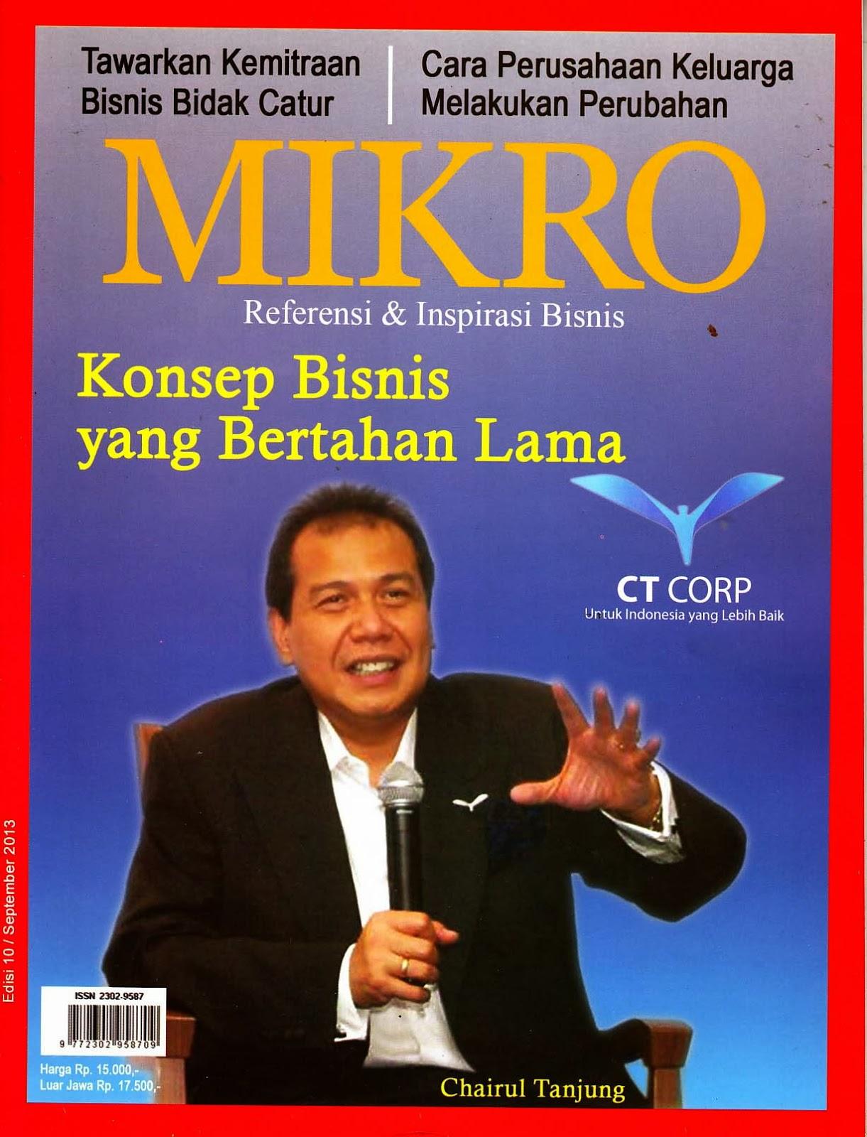 Chairul Tanjung Royal Rolling Chairs Atlantic City Koleksi K Atmojo 2 Majalah Baru Quotmikro Quot Tahun 2013