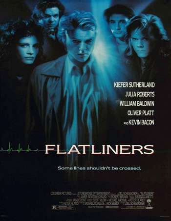 Poster Of Flatliners 1990 Dual Audio 720p BRRip [Hindi - English] ESubs Free Download Watch Online downloadhub.in
