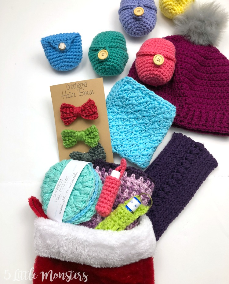 76fe787ff66 Little monsters easy crocheted coin purse jpg 750x928 Easy crochet stocking  hat pattern