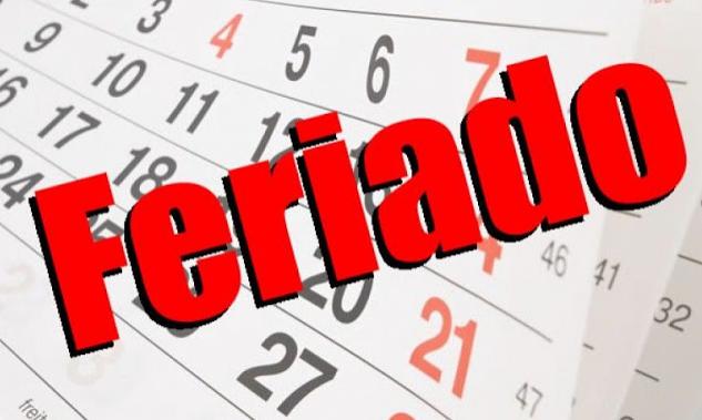 Governo Federal  publica lista de feriados e pontos facultativos em 2019