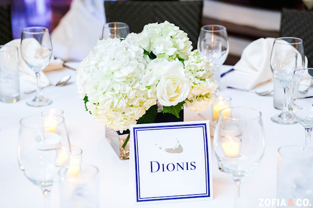 Nantucket Wedding Tablescape