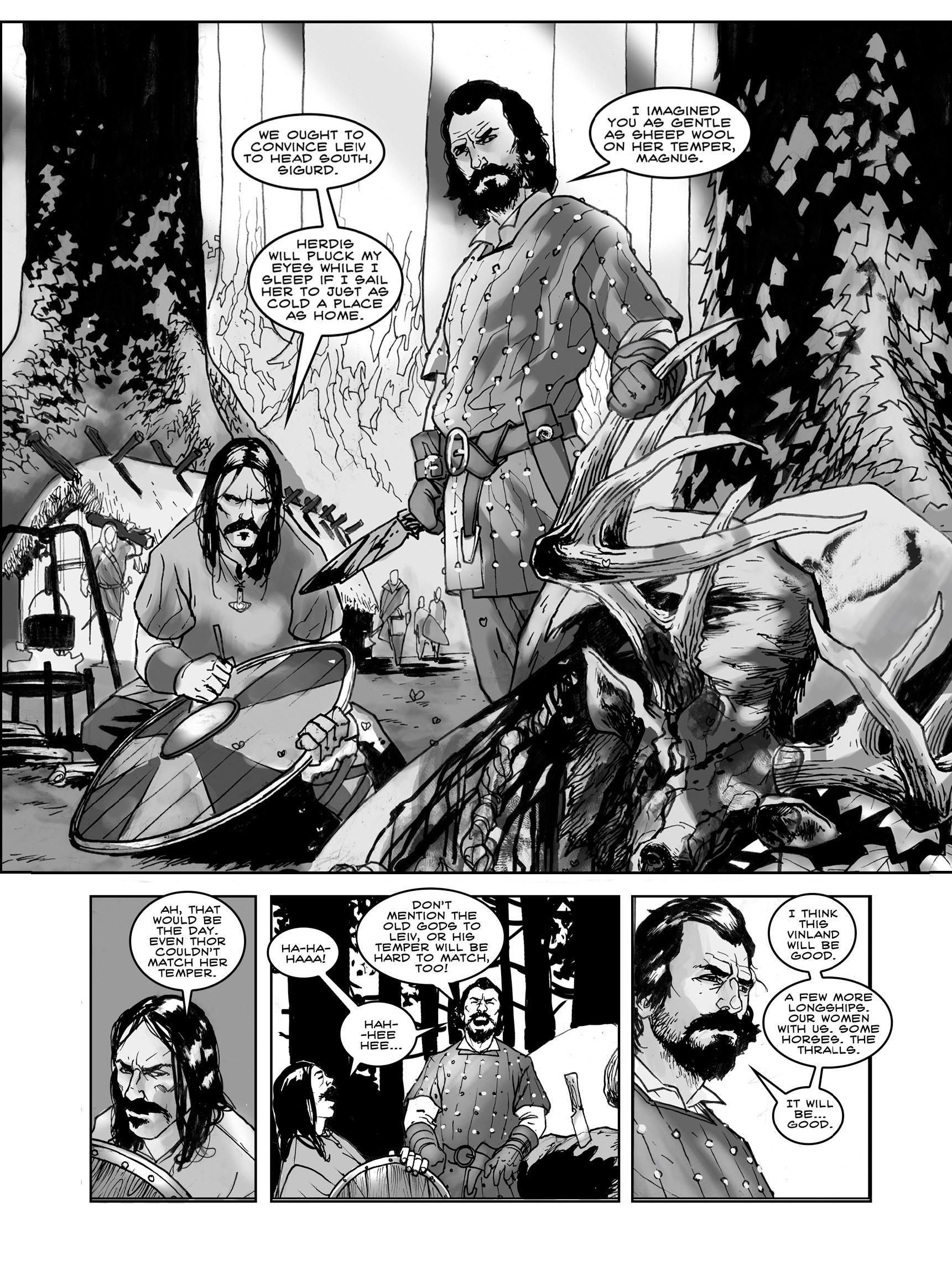 Read online FUBAR comic -  Issue #3 - 7