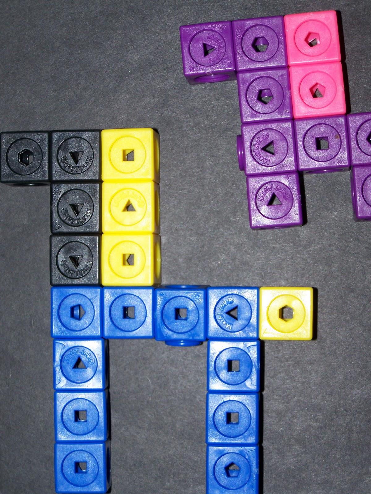Little Homeschool Blessings Preschool And Kindergarten Math Unifex Cubes