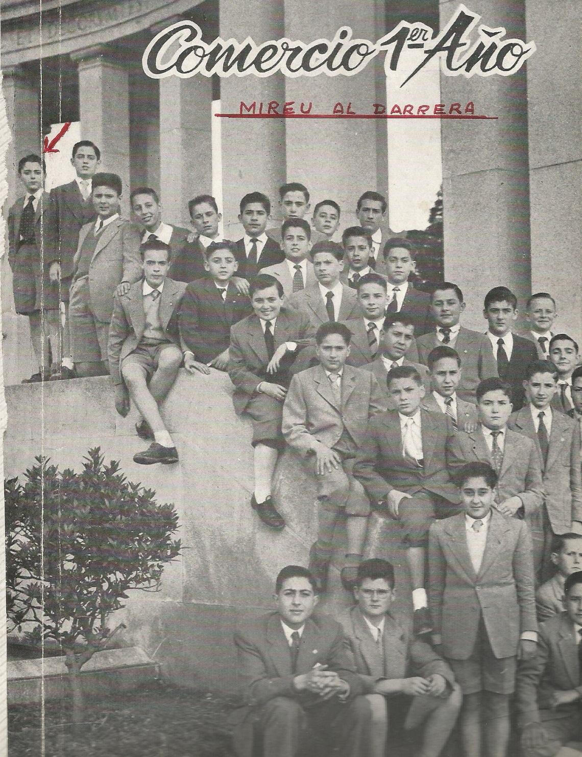 Un jovencito Antonio Puget González