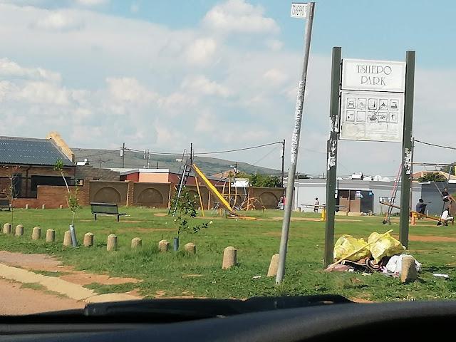Nellmapius township in Pretoria