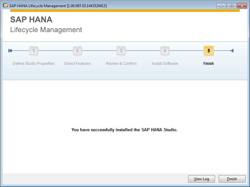 How to Install HANA Studio – SELF LEARNING SAP Center