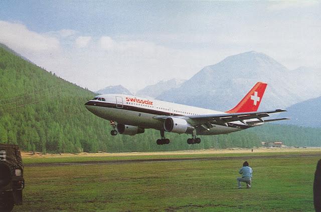 Swiss Air Airbus A310 HB-IPA N446FE