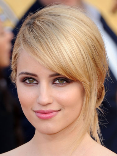Check Out Beautiful Dianna Agron Hairstyle Photos