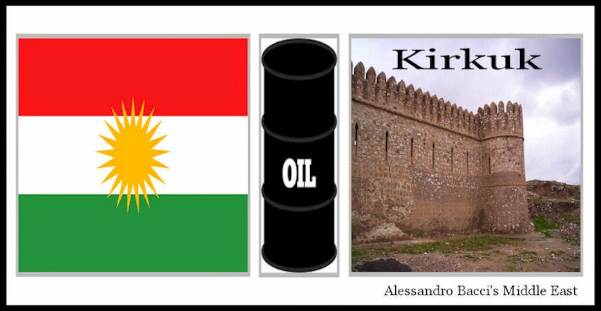 BACCI-Iraqi-Kurdistan-Occupation-of-Kirkuk-Oil-Field-Will-Deeply-Affect-the-Iraqi-Oil-Sector-June-2014