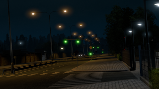 ets2 mods, recommendedmodsets2, ets2 realistic mods, sisl's mods, ets2 real lights, euro truck simulator 2 mods, ets 2 city lighting v1.32 screenshots4