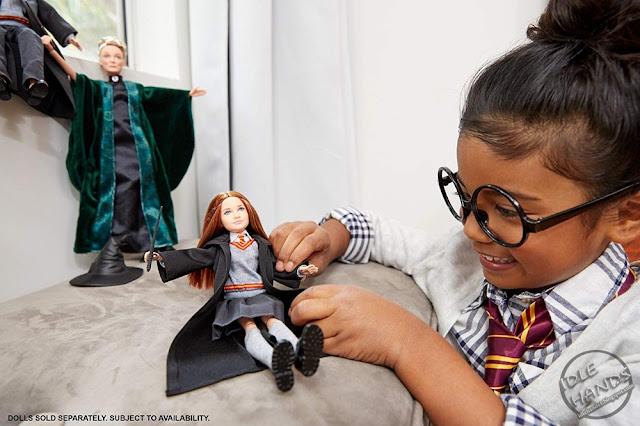 Mattel Harry Potter Doll Line Ginny Weasley