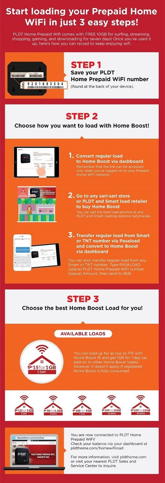 How to reload PLDT Prepaid Home WiFi in 3 easy steps