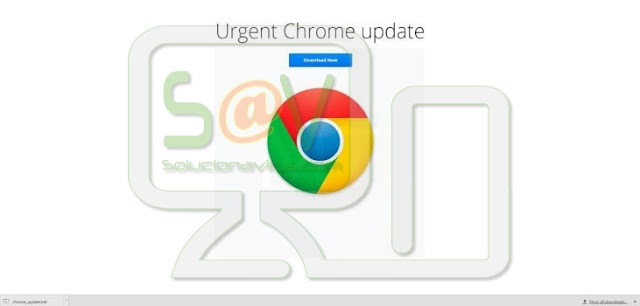 """Urgent Chrome Update"" pop-ups"