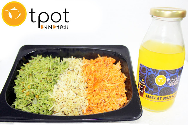 Celebrate this Independence Day Week with Tri color Treat at Tpot café