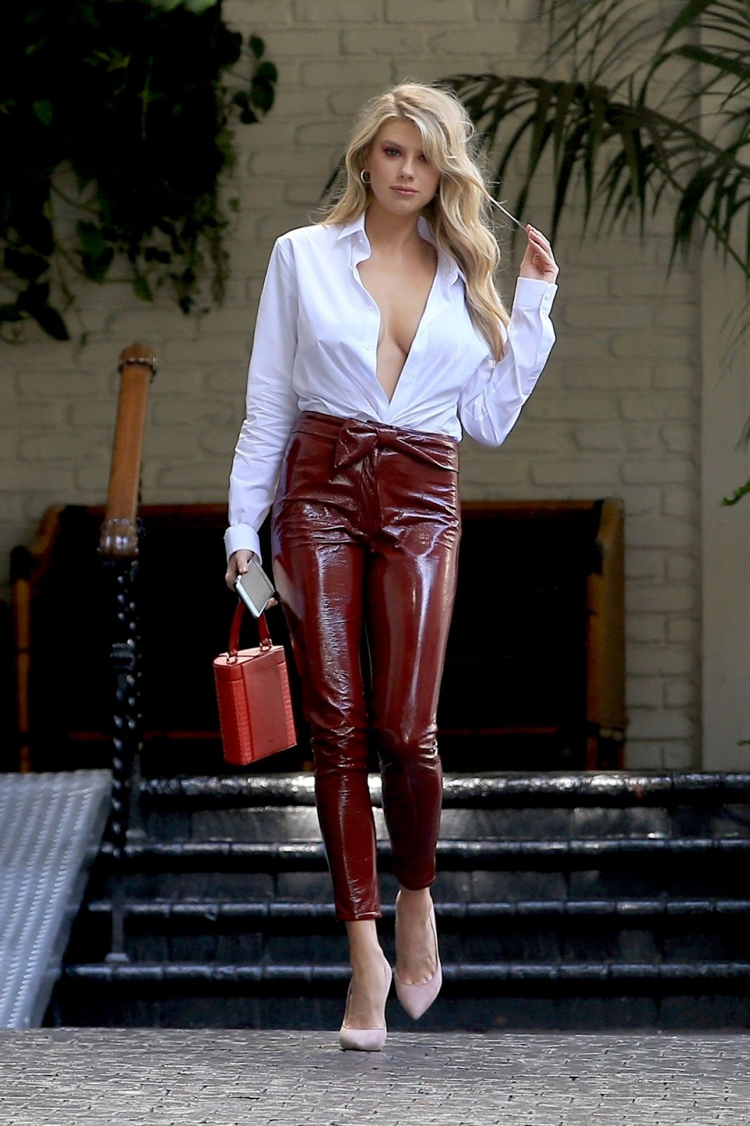 Charlotte McKinney – Style Out in Los Angeles