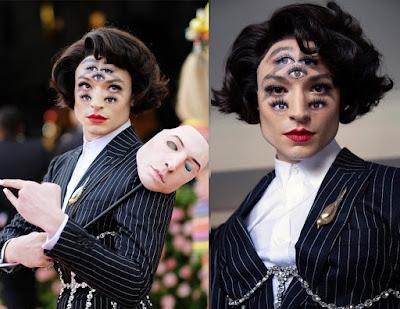 Ezra Miller breaking the internet with her look to Met Gala - Photos