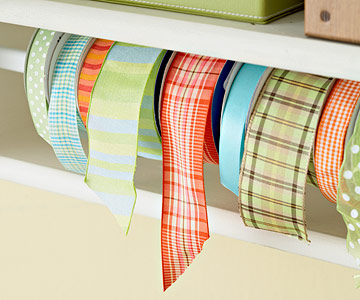 Diy R Craft Ribbon Shelf