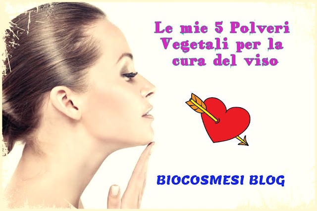 polveri vegetali per la cura del viso, amla, rosa damascena, sandalo, ibisco, robbia