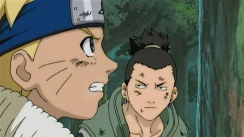 Naruto y Shikamaru