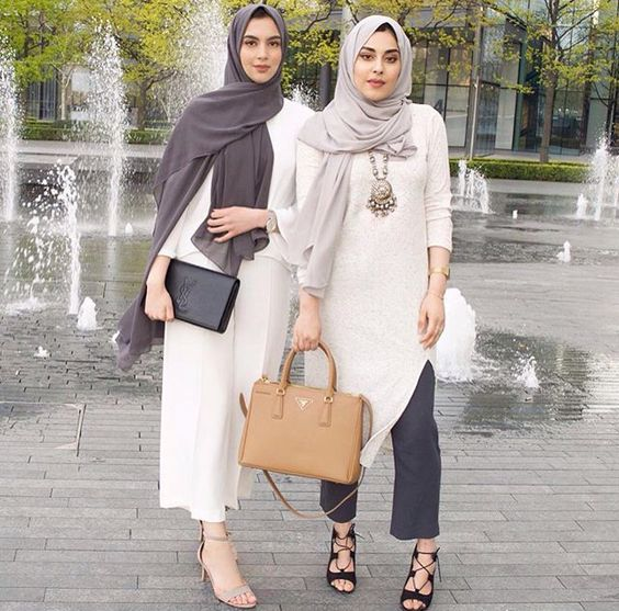 30+ Gaya Fashion Hijab Casual Terbaru 2018