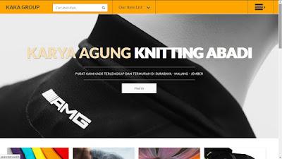 Website Toko Kain Surabaya