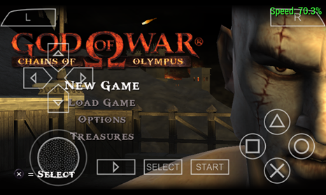 Download God of War - Chains of Olympus (USA) ISO PSP Terbaru Gratis