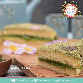 Review Varian Rasa dan Harga Vallens Cake Terbaru dari Via Vallen
