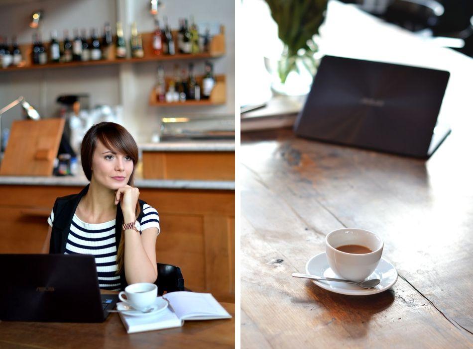 charlotte kawa | sweter w paski