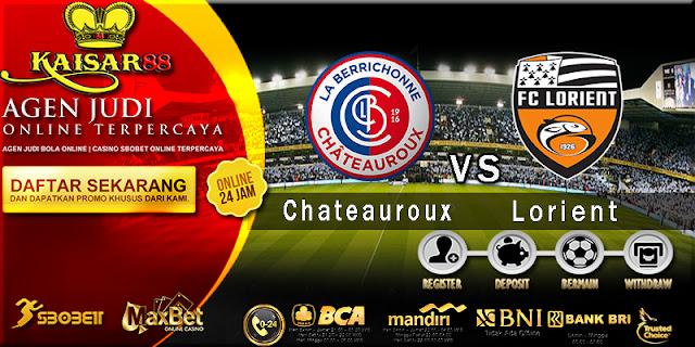 Prediksi Bola Jitu Chateauroux vs Lorient 7 Agustus 2018