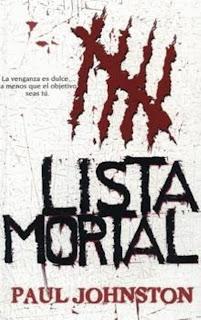 Lista mortal – Paul Johnston